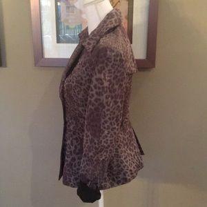 T Tahari Jackets & Coats - T Tahari Animal Print Jacket